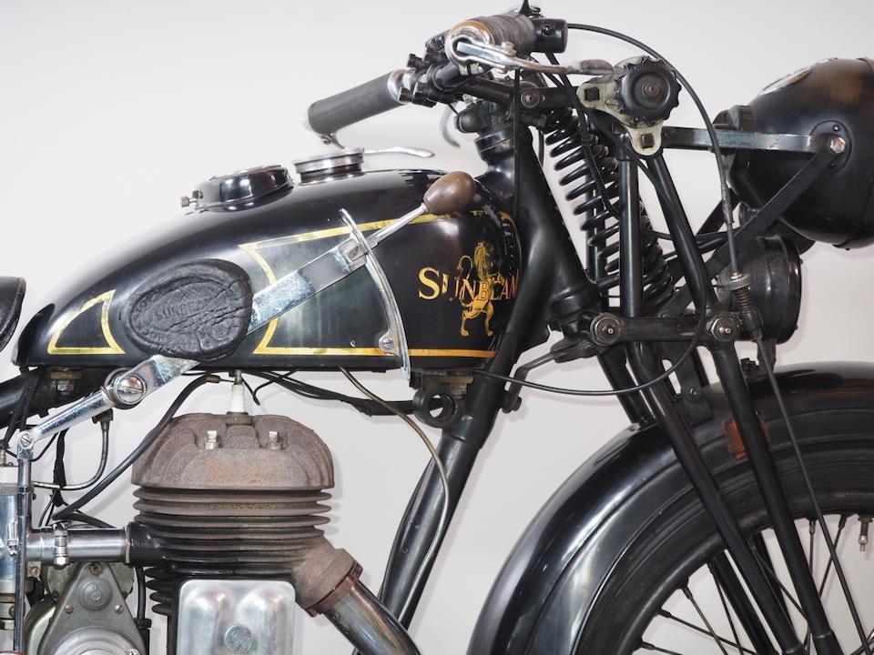1932 Sunbeam 492cc Model 6 Lion Frame no. B12066 Engine no. J6024