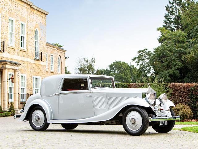 1934 Rolls-Royce 20/25hp Sedanca Coupé  Chassis no. GYD-55