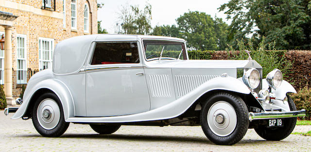 1934 Rolls-Royce 20/25hp Sedanca Coupé  Chassis no. GYD-55