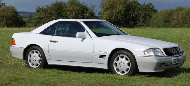 The Bramah Collection,1990 Mercedes-Benz 500SL  Chassis no. WDB1290662F018684