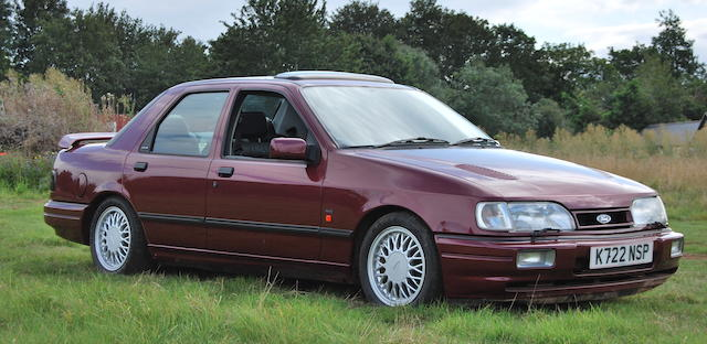 The Bramah Collection,1992 Ford Sierra Sapphire Cosworth  Chassis no. WFOFXXGBBFNC69716