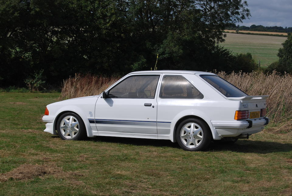 The Bramah Collection,1985 Ford Escort RS Turbo  Chassis no. WFOBXXGCA85069554