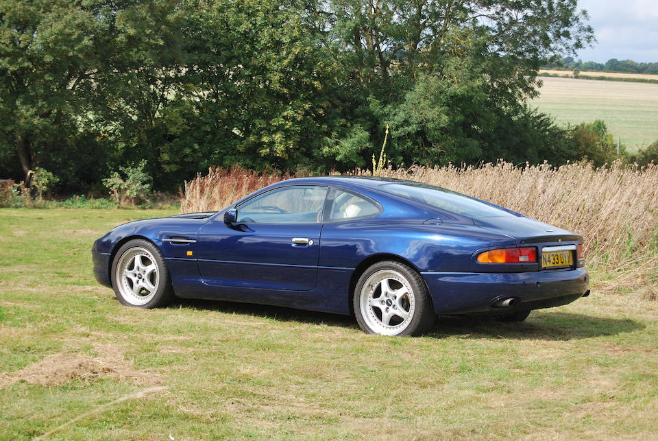 The Bramah Collection,1995 Aston Martin DB7 Coupé  Chassis no. SCFAA1118SK100497