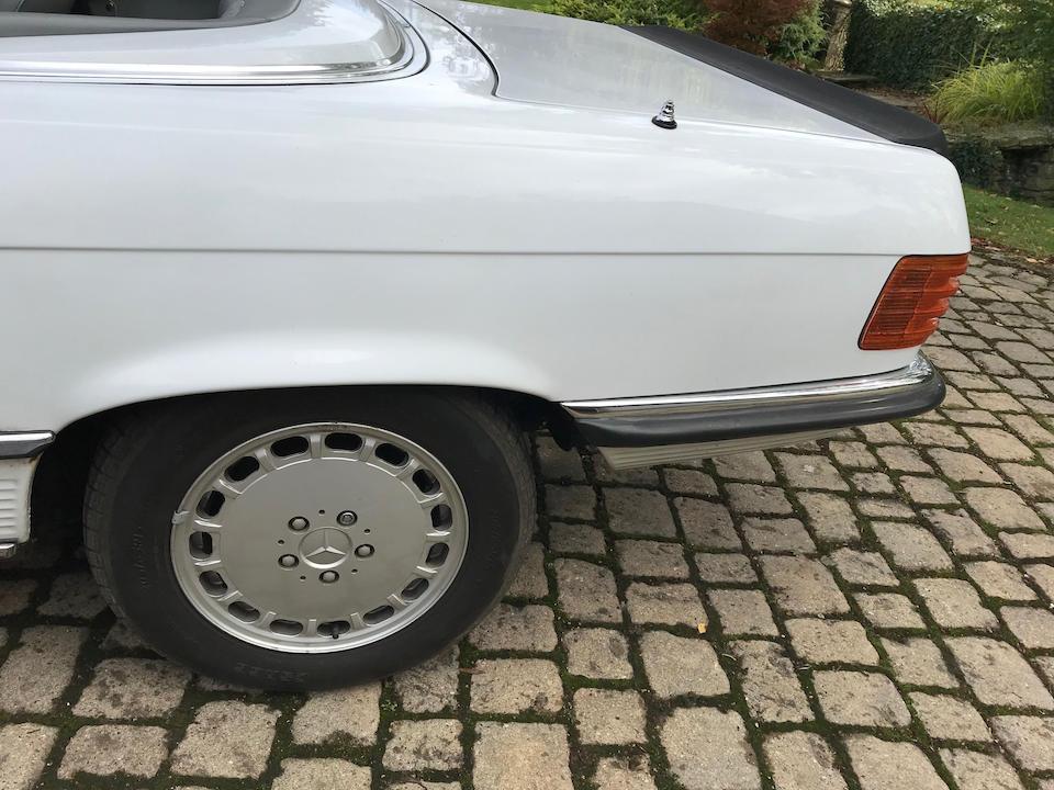 1989 Mercedes-Benz R107 420 SL AUTO  Chassis no. WDB1070472A102510