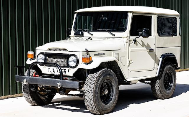 1977 Toyota Land Cruiser  Chassis no. BJ40-016704