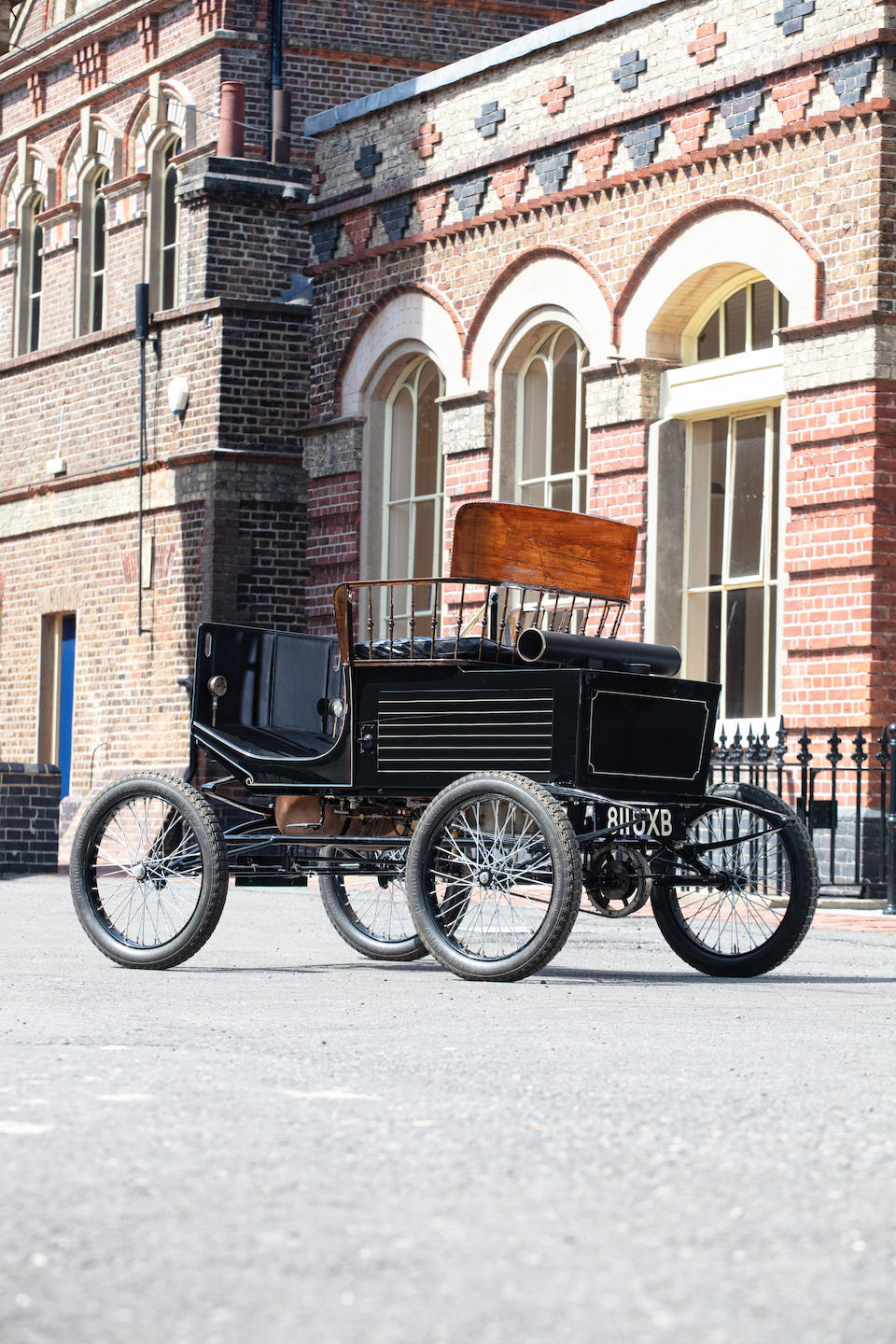 1900 Locomobile Steamer Type 2 5½hp Spindle Seat Runabout  Chassis no. 29