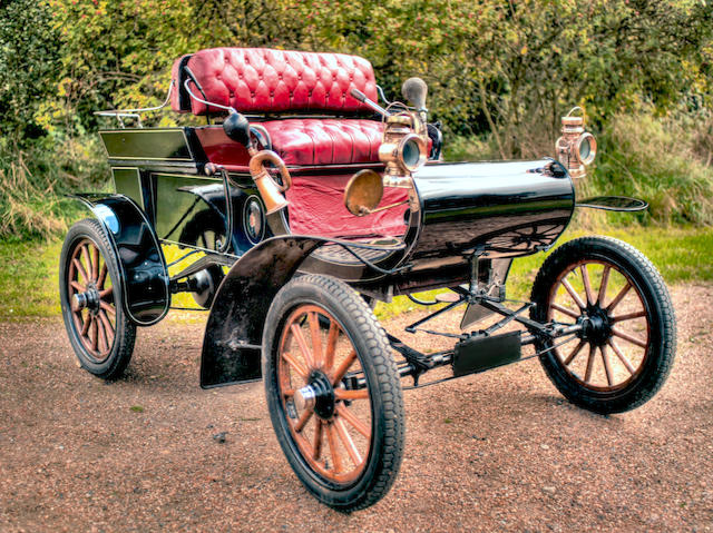 Offered with an entry to the 2019 London to Brighton Veteran Car Run,1903 Oldsmobile Model R 'Curved Dash' Runabout  Engine no. 16150