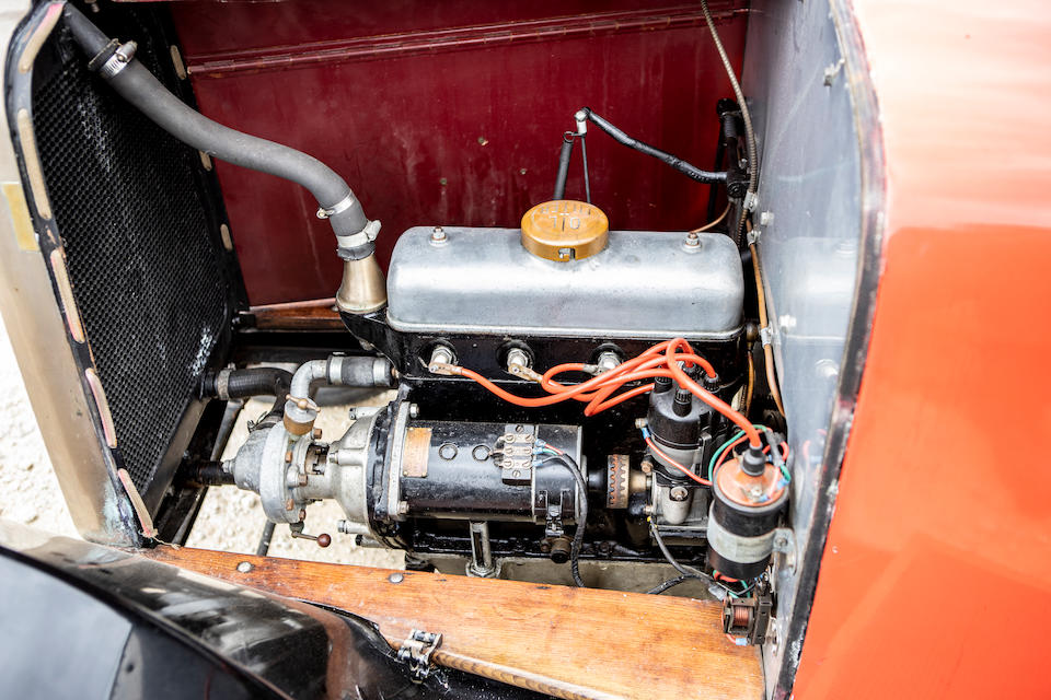 1922 Talbot 8/18hp Tourer with Dickey  Chassis no. AP12330