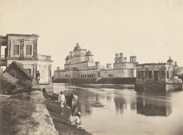 INDIA, EGYPT AND PORT SAID - PHOTOGRAPHY Album of views in Egypt India, Port Said and Gibraltar, by F. Meissner, Hippolyte Arnoux, Christian Paier, William Baker, and others, [1870s]