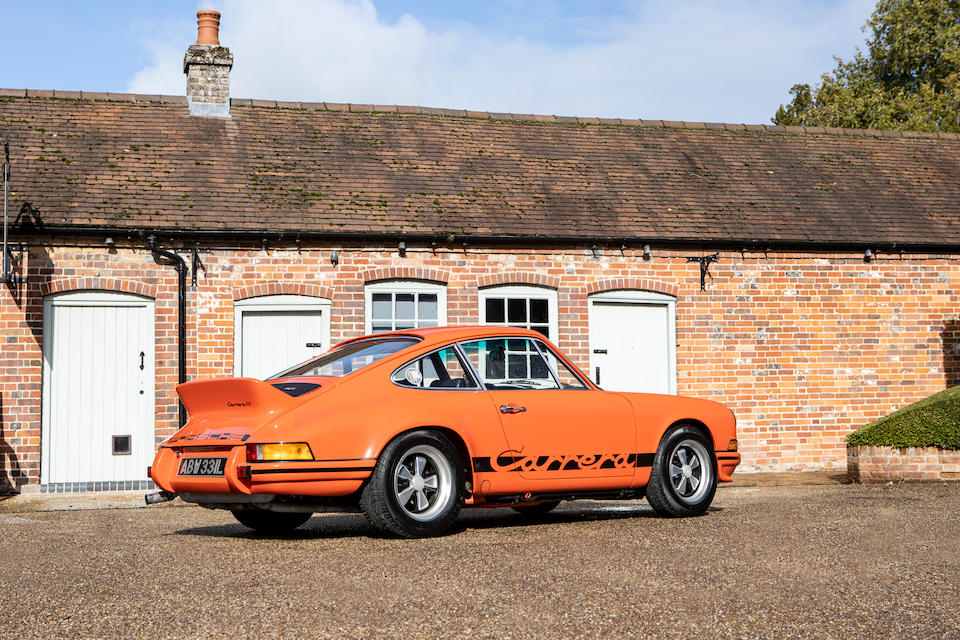 Offered from the collection of Jay Kay. One of only 200 examples built,1973 Porsche 911 Carrera RS 2.7-Litre 'Lightweight' Coupé  Chassis no. 9113601097