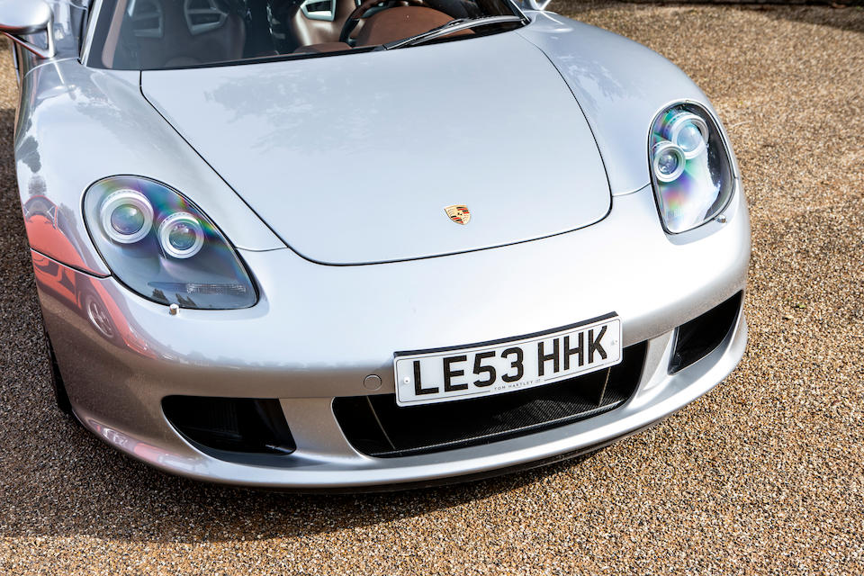 Offered from the collection of Jay Kay. 2,400 miles from new,2004 Porsche Carrera GT