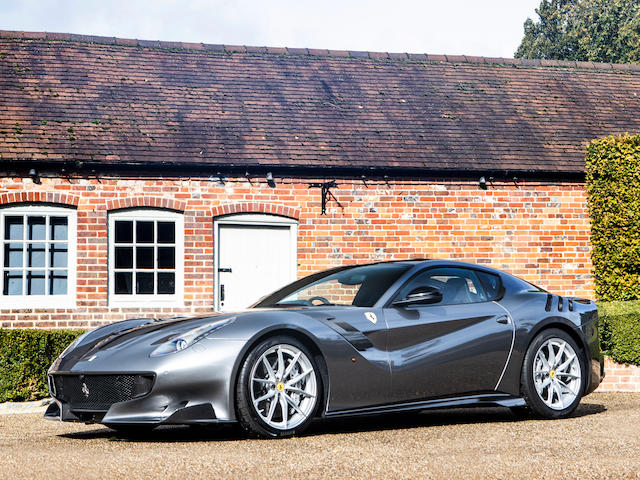 Offered from the collection of Jay Kay. Only 895 miles from new and a right-hand drive example,2016 Ferrari F12tdf Berlinetta  Chassis no. ZFF81BHC000219488