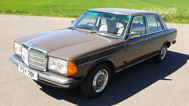 1977 Mercedes-Benz 230 Automatic  Chassis no. 123.023.22.034926