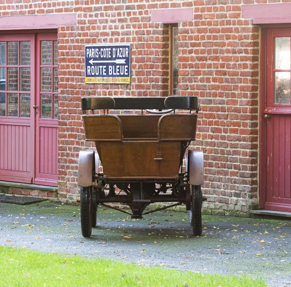 c.1901 Renault 4½hp Rear-Entrance Tonneau  Chassis no. 22 Engine no. 4813