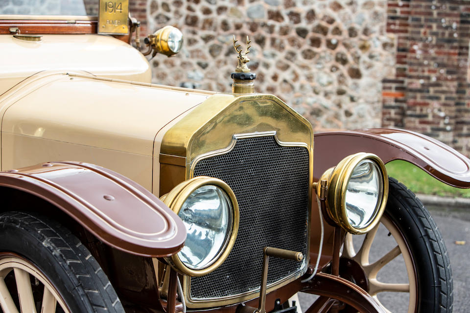 1914 Rover 12hp Tourer  Chassis no. OH3908