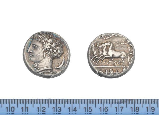 Sicily, Syracuse 405-400 BC,