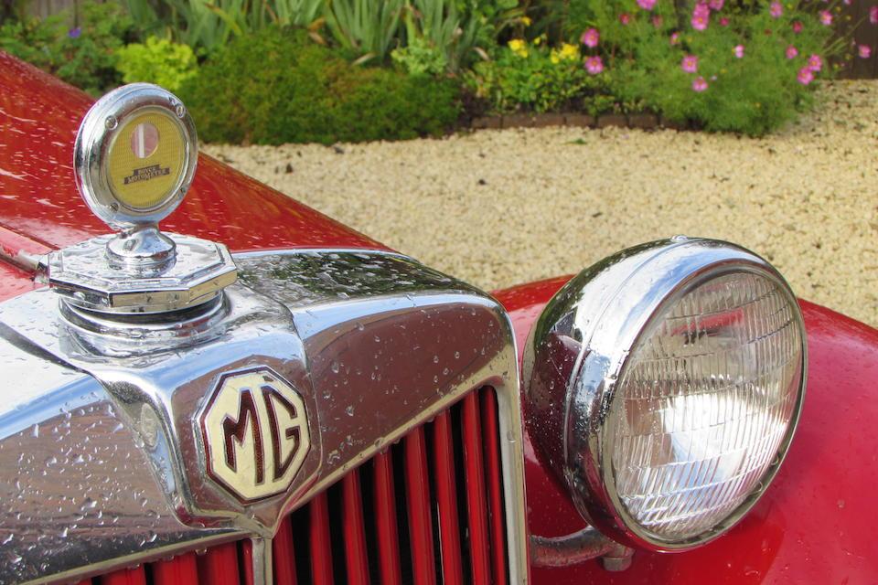 1952 MG TD 1250 Roadster  Chassis no. TD17432