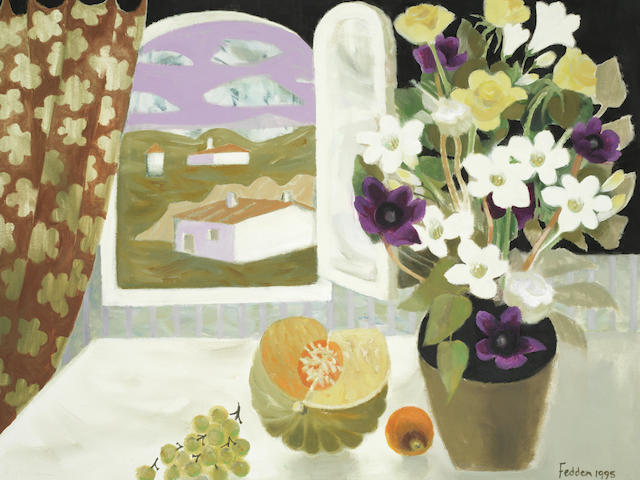 Mary Fedden R.A. (British, 1915-2012) Room with a View
