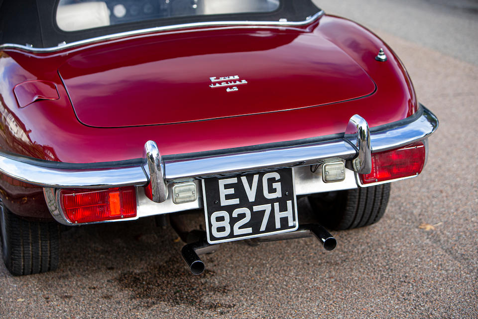 1969 Jaguar E-Type Series II 4.2-Litre Roadster  Chassis no. 1R11311