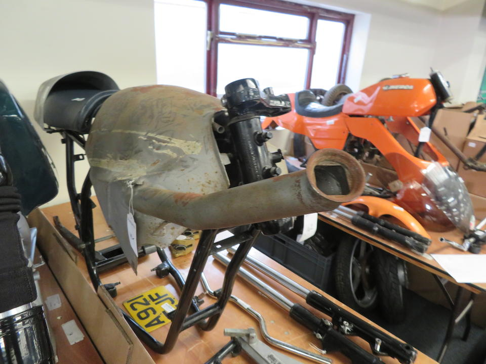 A believed 1984 Laverda RGS1000 'Corsa' Project