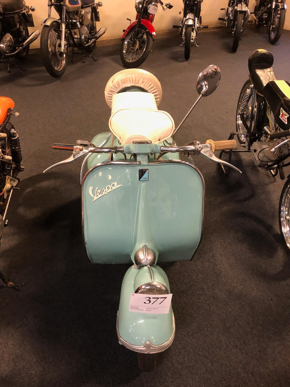 c.1953 Piaggio Vespa 125cc Frame no. VM19061933 Engine no. 062101VMM