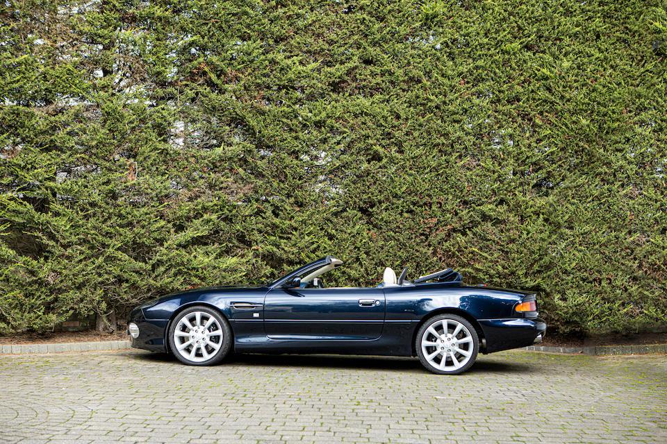 2004 Aston Martin DB7 Vantage Volante  Chassis no. SCFAB32363K404356