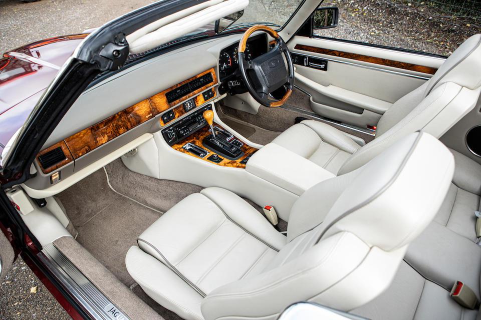 1996 Jaguar XJS 4.0-Litre Celebration Edition Convertible  Chassis no. SAJJNAFD3EJ225831