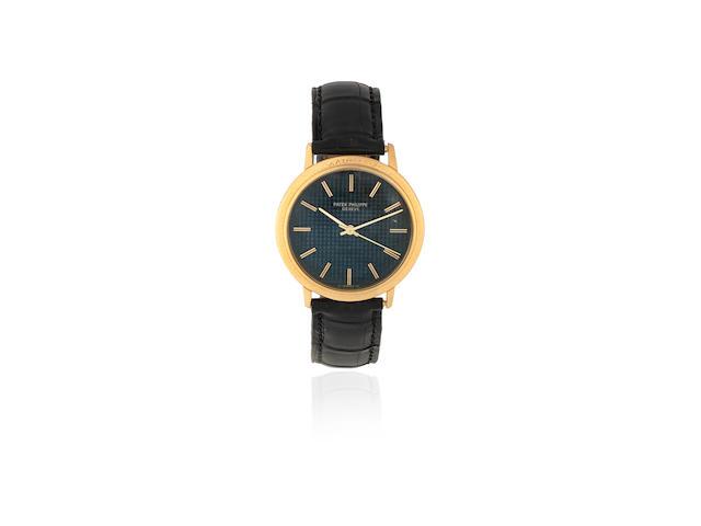 Patek Philippe. An 18K gold automatic wristwatch  Calatrava, Ref: 3569, Circa 1982