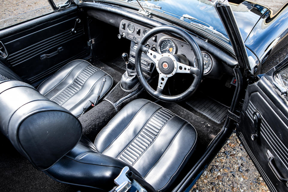 1972 MG Midget  Chassis no. 6AN5124158G
