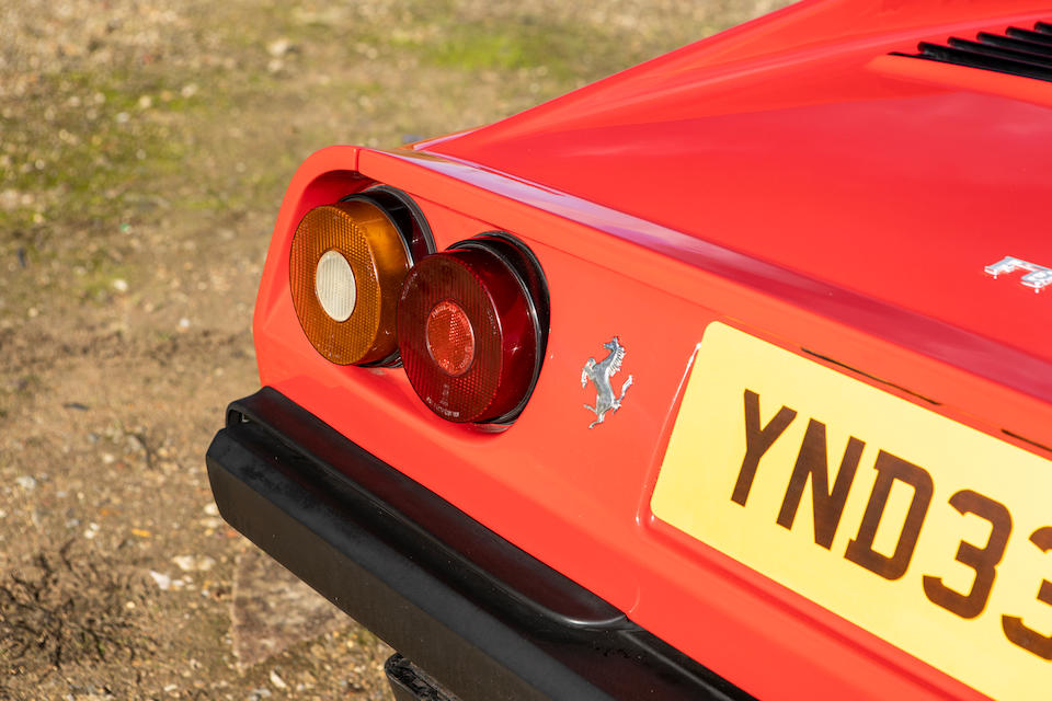 1982 Ferrari 308 GTSI  Chassis no. ZFFAA02AXC0037957