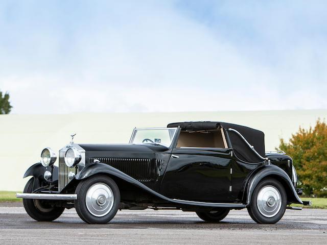 1933 Rolls-Royce 20/25hp Owen Sedanca Three-Position Drophead Coupé  Chassis no. GEX28