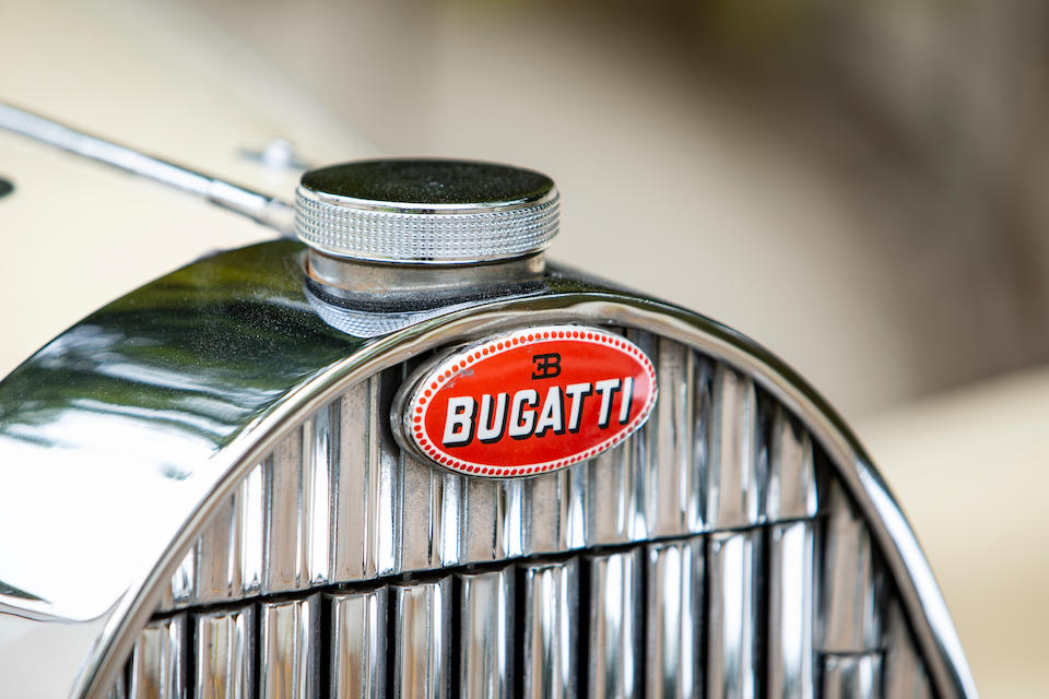 One of the very last pre-war Bugattis produced before the outbreak of WWII, only 45 708 kilometers from new,,1939 Bugatti Type 57C Stelvio Cabriolet  Chassis no. 57836 Engine no. 93C