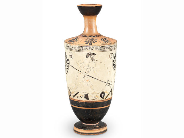 An Attic white-ground lekythos