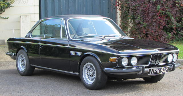 1974 BMW E9 3.0CSI  Chassis no. 4350076