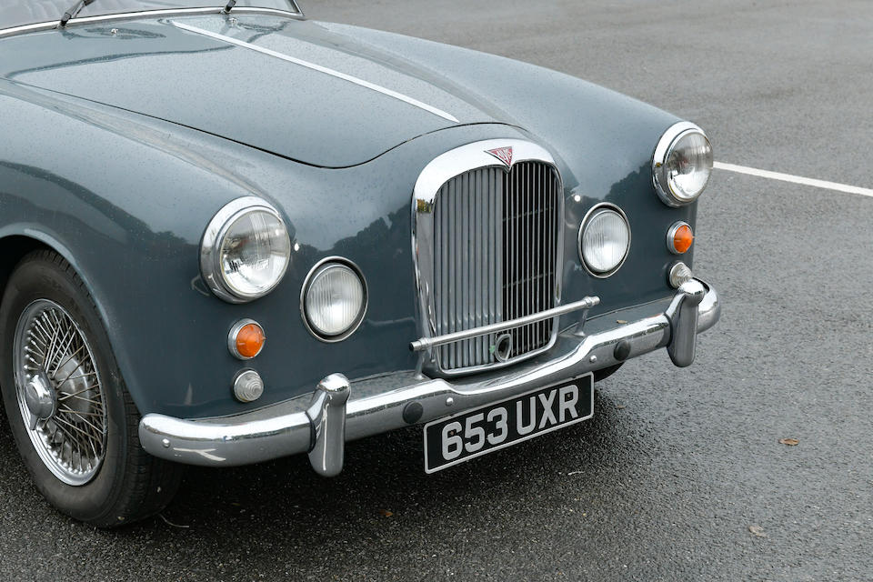 1962 Alvis TD21 Sports Saloon  Chassis no. 26901