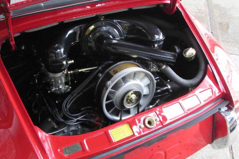 1968  Porsche 911 SWB  Chassis no. 11835507