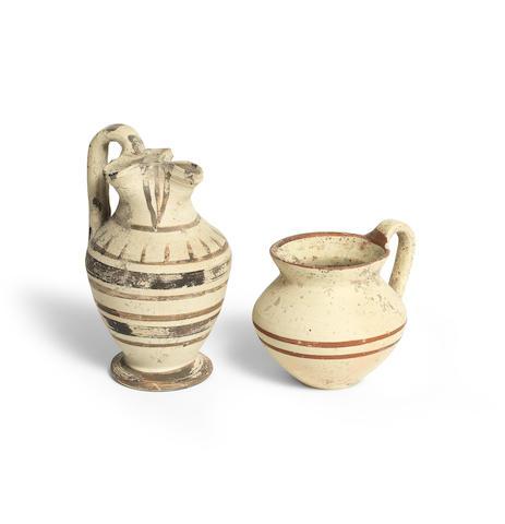 Two Daunian pottery vessels 2