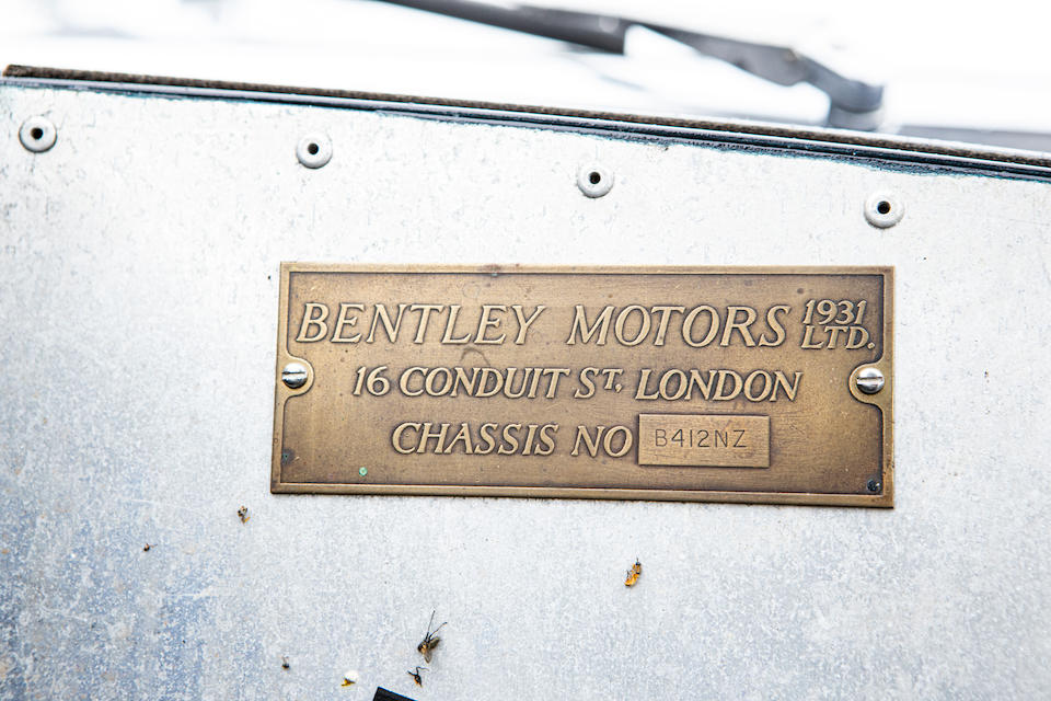 1952 Bentley MK.VI Special  Chassis no. B412NZ
