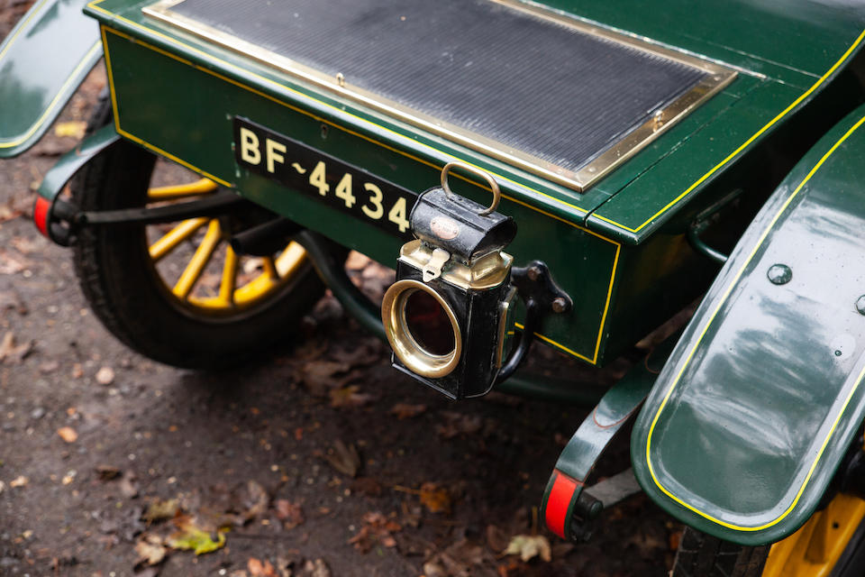 From the estate of the late Brian Moore,1904 De Dion Buton Model Y 6hp Two-seater  Chassis no. 308