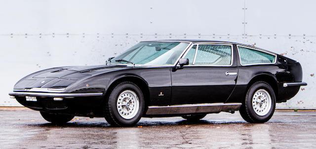 1971 Maserati Indy  Chassis no. AM116 Engine no. AM116693