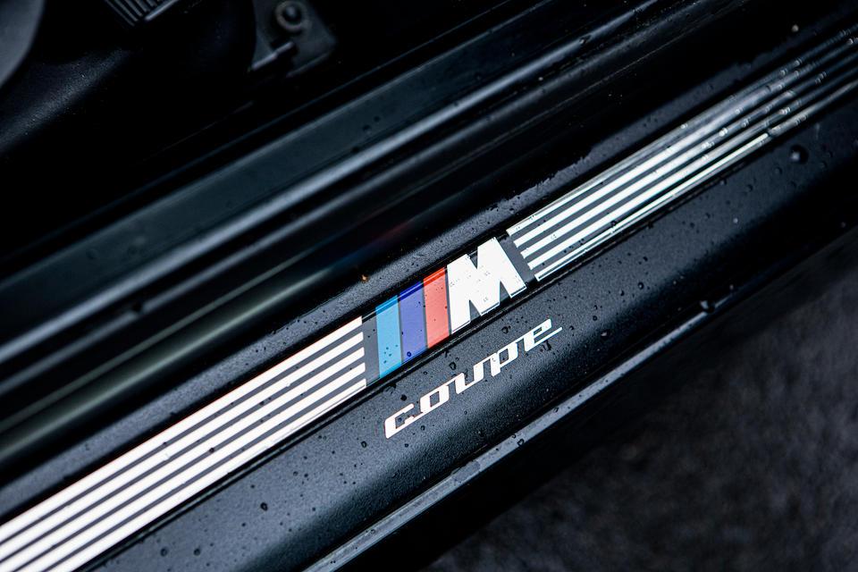1999 BMW Z3M Coupé  Chassis no. WBSCM92020LB29273