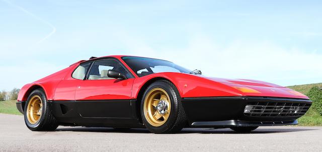 Ex-Maranello Concessionaires demonstrator and press car,1976 Ferrari 512 BB Coupé  Chassis no. F102BB 19885