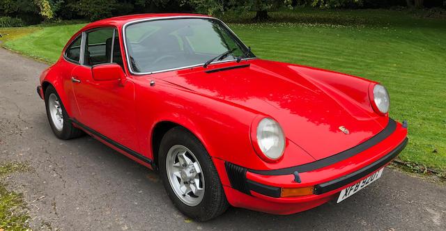 Property of a deceased's estate,c.1978  Porsche 911 SC 3.0-Litre Coupé  Chassis no. 9119302484