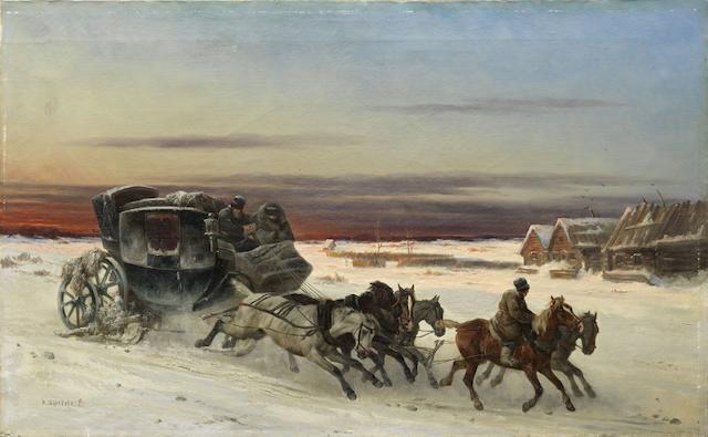 Nikolai Egorovich Sverchkov (Russian, 1817-1898)