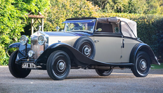 1933 Rolls-Royce 20/25hp Foursome Drophead Coupé  Chassis no. GRW44