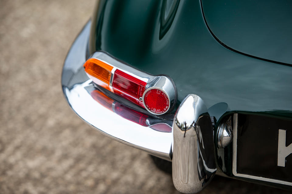 Property of a deceased's estate,1966 Jaguar E-Type Series I 4.2-Litre 2+2 Coupé  Chassis no. 1E50536