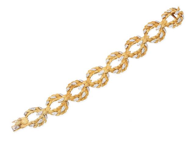 A diamond bracelet, by Flaircraft,
