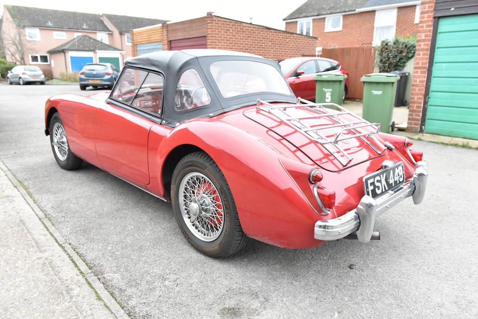 1959 MG A 1600 Roadster  Chassis no. GHN72250