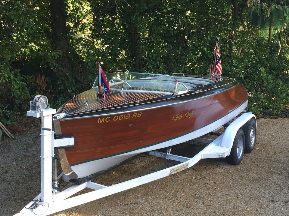 1940 Chris-Craft 19ft Custom Barrel Back Runabout