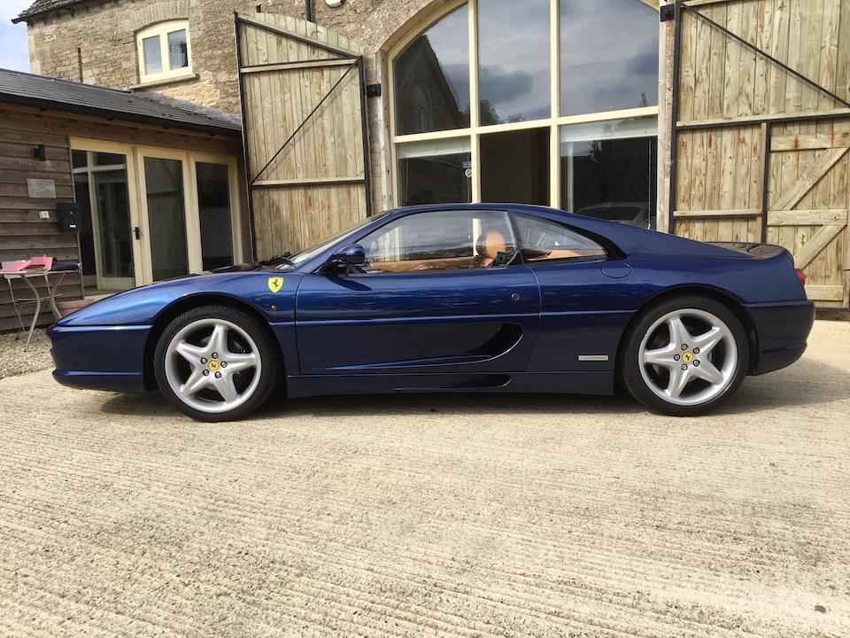 1997 Ferrari F355 Berlinetta  Chassis no. ZFFXR41C000110412